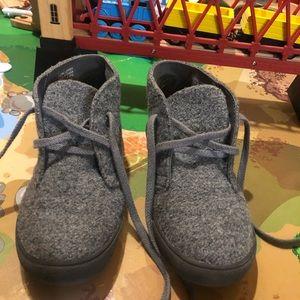 CrewCuts Grey Wool Shoes